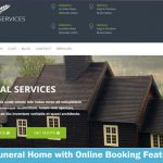 Funeral Home with Online Booking Feature